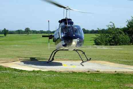 Whizzard Helicopters - Helicopter buzz flight with Whizzard Helicopters, Manchester, Welshpool or Liverpool - Save 48%