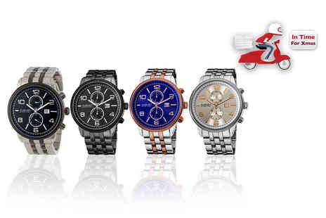Buy Bay - August Steiner mens watch choose from four designs - Save 87%