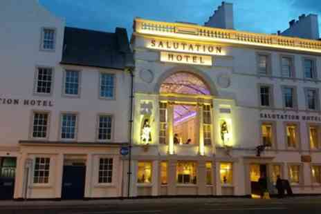 The Salutation Hotel - One or Two Nights Stay for Two with Breakfast, 3 Course Carvery Dinner and Late Check Out - Save 58%