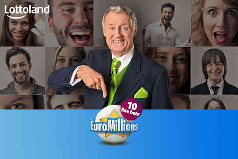 Lottoland - 10 EuroMillions line bets - Save 55%