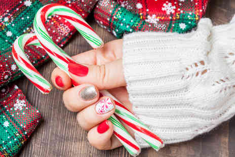 Nails by Sam - Gel manicure and pedicure or Add Christmas nail art  - Save 52%
