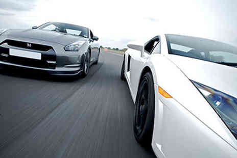 Activity Superstore - Triple supercar driving experience - Save 45%