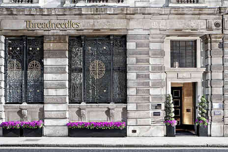 Threadneedles Hotel - Five Star 4 nights Stay in a Deluxe Room - Save 70%