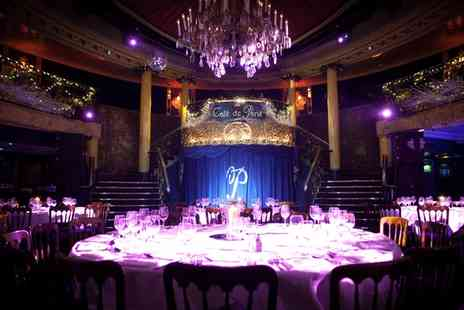 Cafe De Paris - Seven Sins Friday Cabaret Show with Two Course Dinner, Cocktail and Club Entry for Four - Save 41%