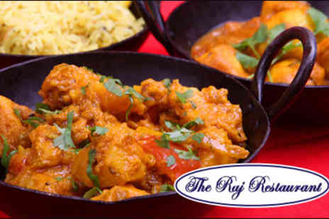 The Raj - Traditional Indian cuisine at The Raj - Save 60%