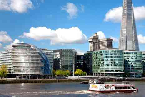 City Cruises PLC - Two Course Thames Lunch River Cruise - Save 50%