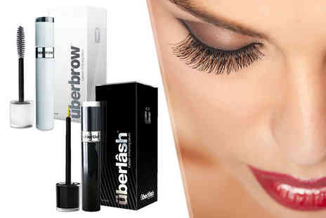 Internet Shop UK - Uberlash or Uberbrow serum or both serums treat your lashes to some luxury - Save 87%