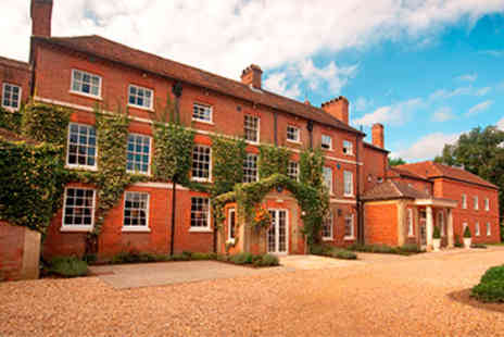 Bartley Lodge Hotel - Hotel Escape with Dinner for Two - Save 10%