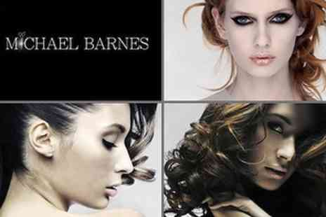 Michael Barnes Hairdressing - £22 Haircut and Blow Dry plus Hair Repair Treatment & Glass of Wine - Save 64%