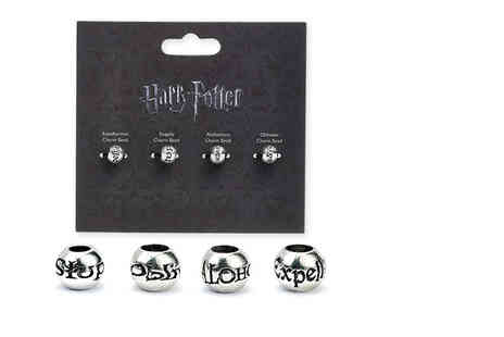 Aspire - Set of four Harry Potter spell charms - Save 60%