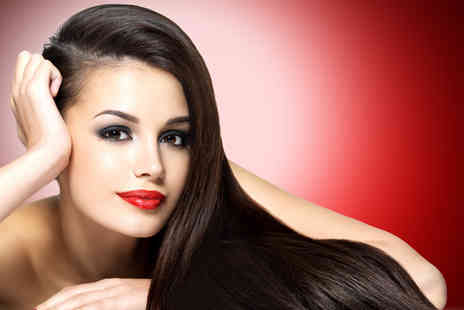 Glowing Salon - Brazilian keratin blow dry - Save 57%