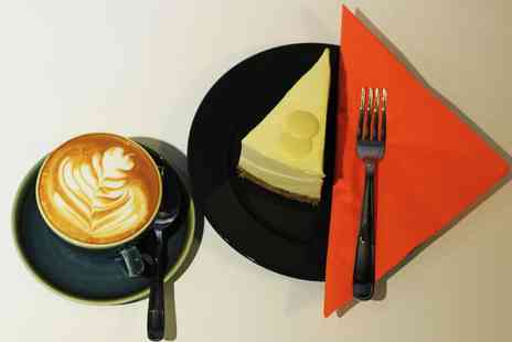 Acoustic Cafe - Cheesecake with Coffee or Tea for One, Two or Four - Save 0%