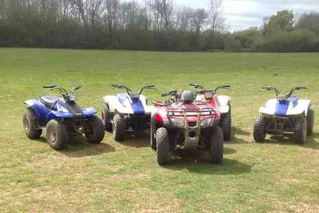 Action Adventure Activities - One Hour Junior Quad Biking Session for One or Two - Save 49%