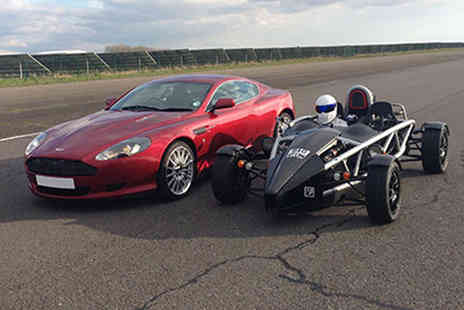 Activity Superstore - Aston Martin and Ariel Atom driving experience - Save 50%