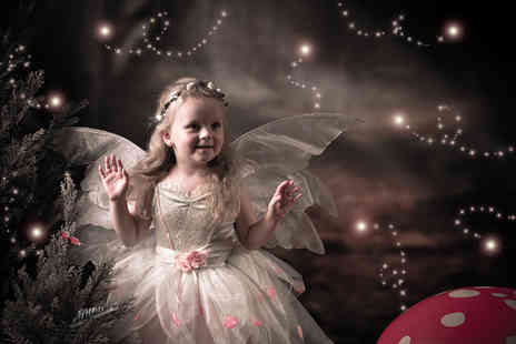 Images Unlimited - Fairy and elf photoshoot for two children with up to five prints - Save 96%