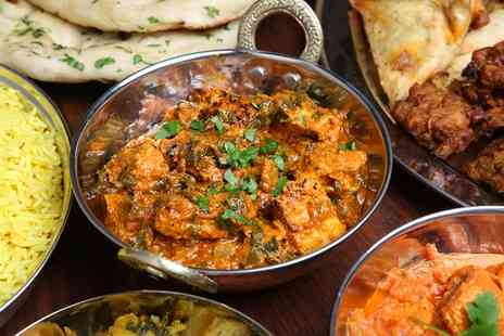 Ashoka Shak Dundee - Choice of Two Curry Dishes - Save 52%