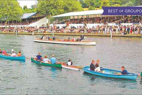 Maidenhead Steam Company - Henley Royal Regatta Package with Drinks, Lunch and Afternoon Tea On 28 June or 2 July - Save 36%