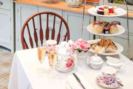 Rosies Tea Room - Savoury Afternoon Tea for Two or Four with Optional wine - Save 50%