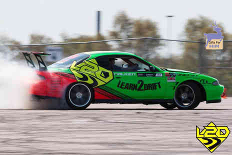 Learn2Drift - Four hour car drifting experience including three or six passenger laps - Save 67%