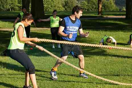 UK Outdoor Fitness - 8 or 12 Boot Camp Sessions for One or Two - Save 79%
