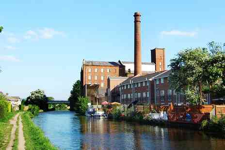 Lancashire Canal Cruises - Lancs Barge Cruise for 2 inc Afternoon Tea - Save 55%