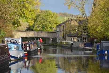 Lancashire Canal Cruises - 90 minute boat cruise for one including afternoon tea and bubbly - Save 0%