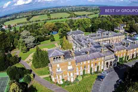 Oatlands Park Hotel - One or Two Nights Stay for Two with Breakfast, Dinner and Option for a Glass of Prosecco - Save 48%