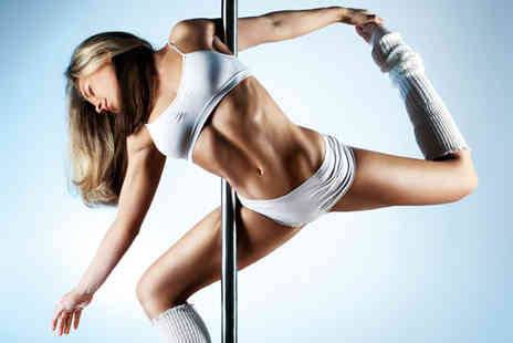 Pole Class - Two exotic pole and floor work classes or six one hour beginner pole dancing classes - Save 47%