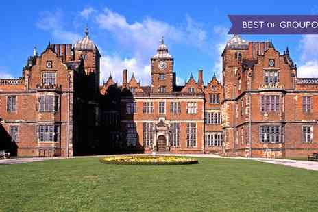 Aston Hall - Guided Tour of Aston Hall with Cream Tea for One or Two - Save 0%