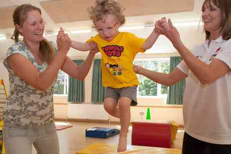 Tumble Tots - Eight Classes for Toddlers and Small Children with 12 month membership - Save 49%
