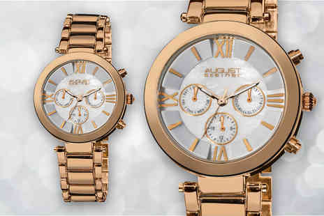 Buy Bay - August Steiner ladies watch choose from three colours - Save 83%