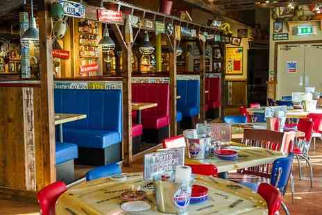 Bubba Gump Shrimp Co - Full English or Bubbas Veggie Breakfast for two - Save 43%