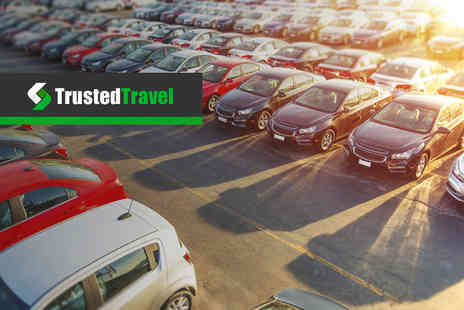 Trusted Travel - 32% off airport parking - Save 0%