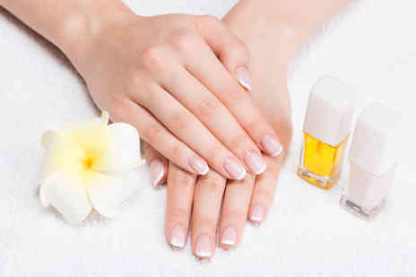 For Him & Her Beauty Clinic - Shellac gel manicure, pedicure or both - Save 64%