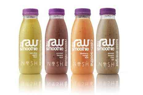 Nosh Detox Delivery - Nosh Raw Three Day Smoothie Diet Pack With Free Delivery - Save 69%