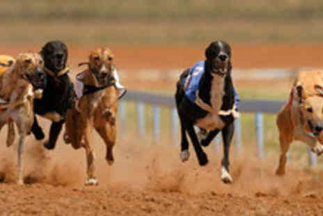 Peterborough Greyhounds - Entry to the greyhound racing  and food for up to 10 people - Save 50%