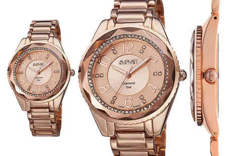 Buy Bay - Ladies August Steiner watch choose from four styles - Save 85%