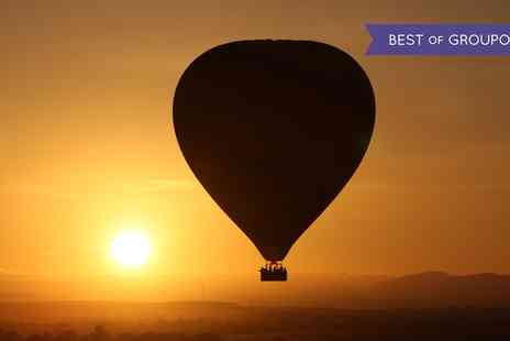 Cotswold Balloon Safaris - Midweek Early Bird Dawn Flight with In Flight Photograph for Two - Save 22%