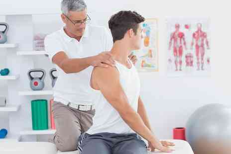 Shield Clinic - Back Pain Examination with Scan And Two Treatments - Save 82%