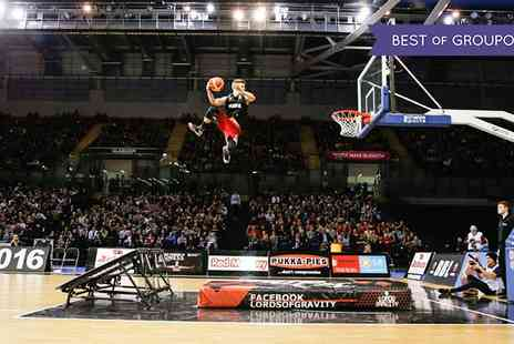 British Basketball League - One band B ticket for child, adult or a family of four to see Basketball Cup Finals on 15 January 2017 - Save 25%