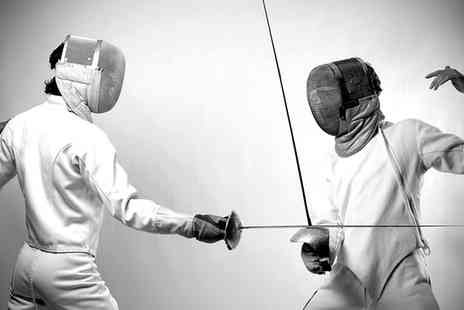 Fighting Fit Fencing - One Hour Fencing Class or Four Week Workshop for Beginners for One or Two - Save 64%