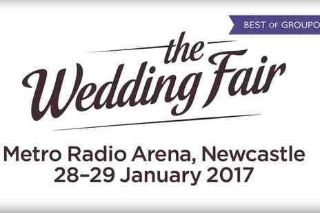 The North East Wedding Fair - Tickets to The North East Wedding Fair on 28 To 29 January - Save 41%