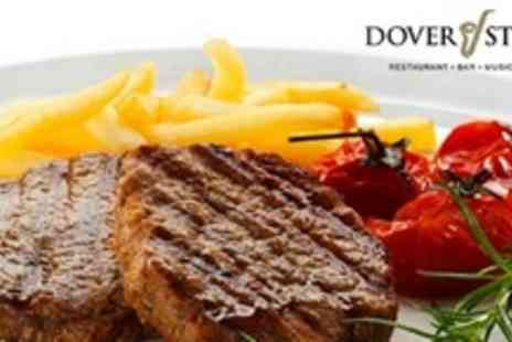 Dover Street - Three Course Meal For Four People With Cocktail and Entertainment - Save 62%