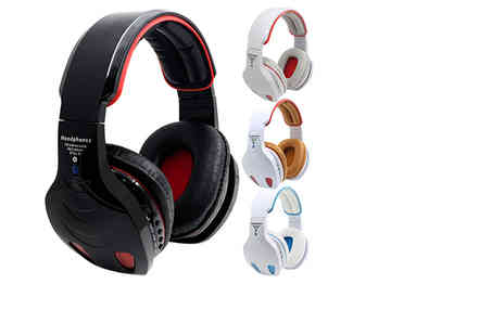 Plus Bee - Pair of over ear headphones choose from two designs - Save 85%