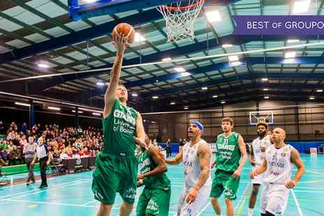 Manchester Giants - One ticket to see Manchester Giants live basketball game - Save 29%
