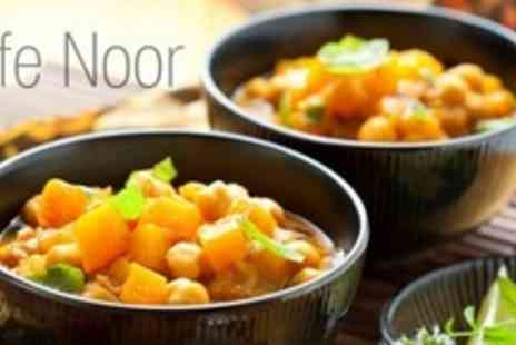 Cafe Noor - Indian Takeaway With Starter, Main and Poppadoms Plus Rice or Naan - Save 57%