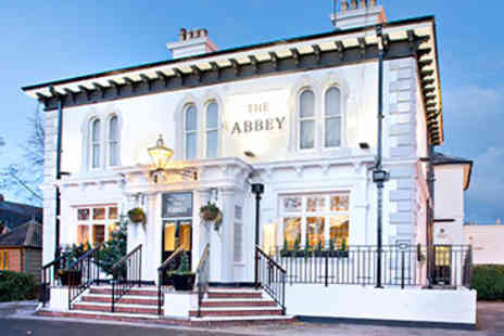 Abbey Hotel - Two Course Pub Meal and Drink for Two - Save 0%