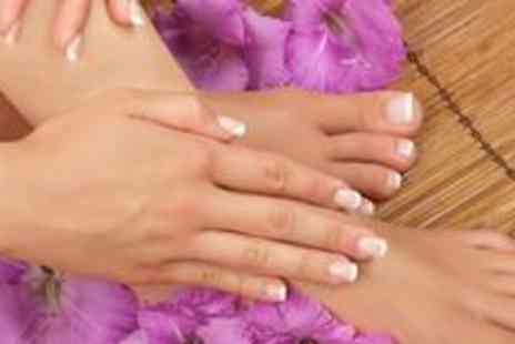 Beauty 2 - Luxury manicure and armotherapy pedicure - Save 72%