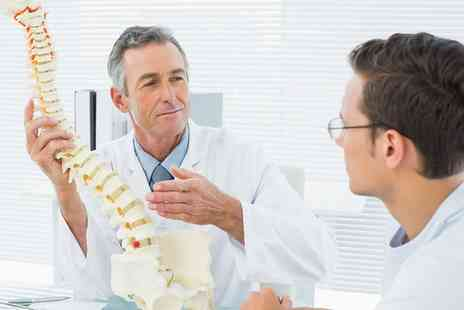 The Chiropractic Centre - Chiropractic Consultation and One or Two Follow Up Treatment Sessions - Save 71%