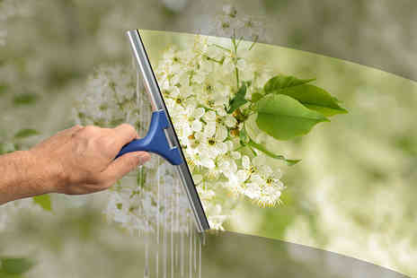 UK Window Clean - Two sessions of professional window cleaning - Save 56%